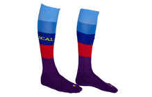 Local Kink  Chaussettes Freeride Knee violet/bleu